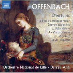 Overtures = Ouvertures | Offenbach, Jacques. Compositeur