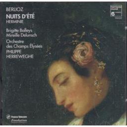 Nuits d'été, op.7. Herminie : scène lyrique pour soprano et orchestre | Berlioz, Hector